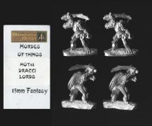 Alternative Armies 15mm Fantasy HOT48 Dracci Lords (Dragonmen) (x 4)